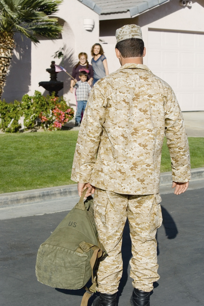 Military families with multiple deployments